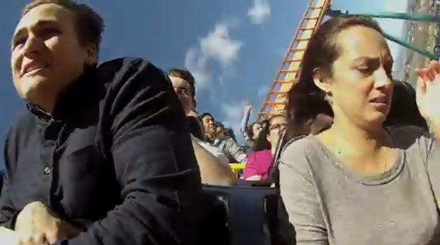 Karena Dipaksa Naik Roller Coaster, Pria ini Ketakutan Dan Putuskan Pacarnya