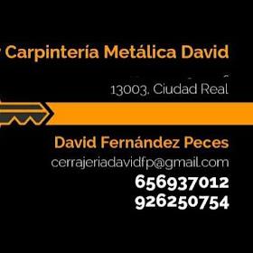 Cerrajería y Carpintería Metálica, David Fernández Peces.