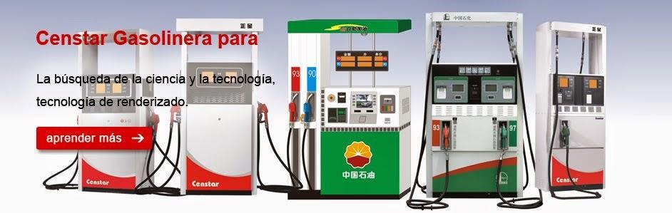 Censtar surtidores para combustible