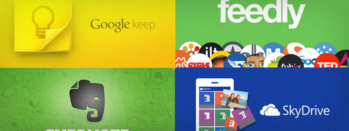 25 Android Apps for Bloggers: Management, Productivity, Cloud Storage & Social Media