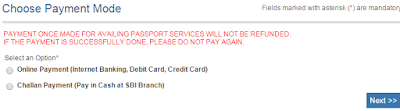 Step 3: Pay and Schedule Appointment for Passport image