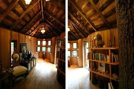 Cliffside lodge construcci n en madera casas ecol gicas - Casas de madera por dentro ...