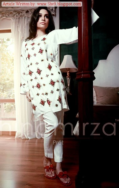 Hina Mirza Winter-Fall Dress Collection 2014