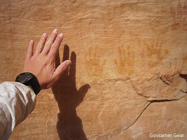 Sheiks Canyon pictographs