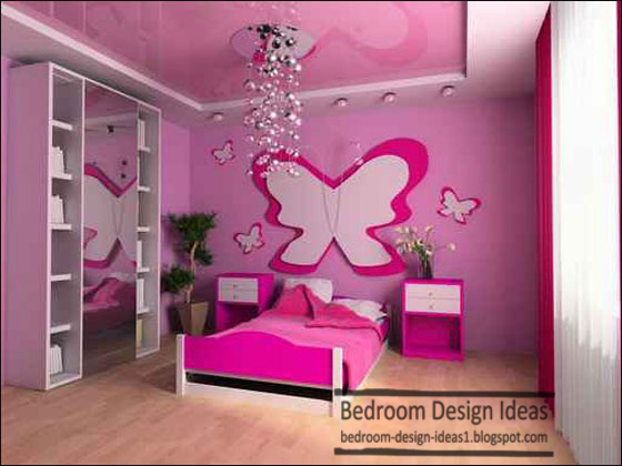 girls bedroom design ideas gypsum false ceiling Home