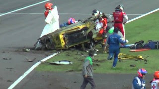 Terrible Crash de Ferrari à Suzuka