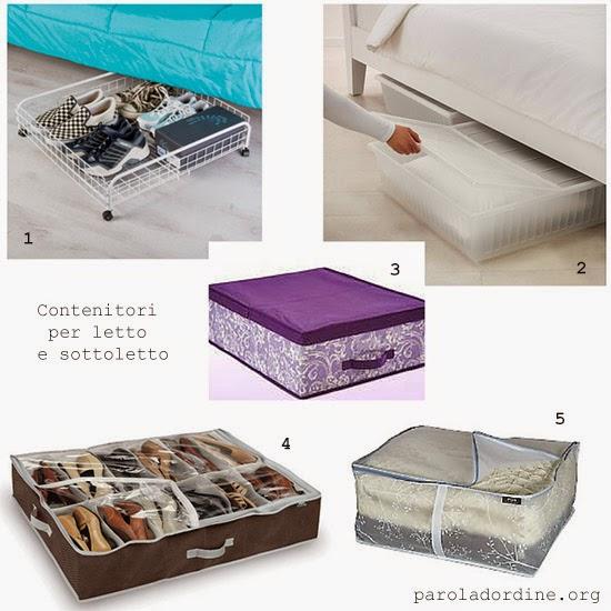 paroladordine-da avere-camera-contenitori per letto e sottoletto