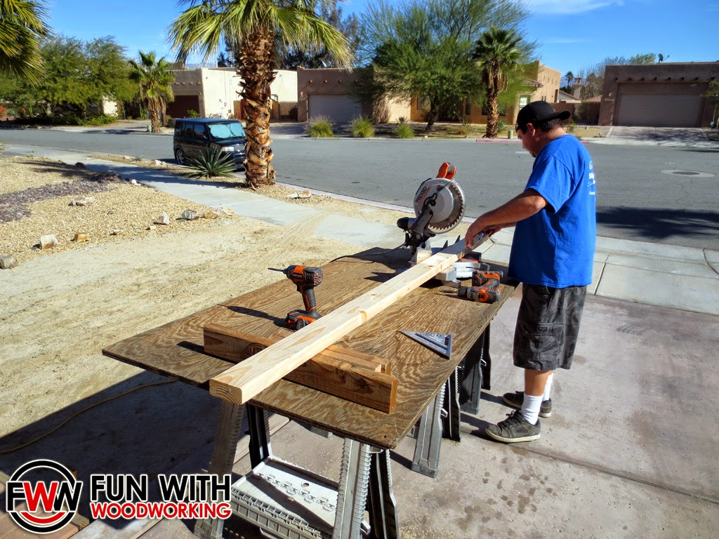 Fun With Woodworking Building the Ana White Rustic X Coffee Table