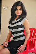 Alekhya Photos at Swiss Raja Press Meet-thumbnail-3