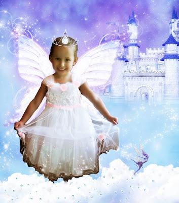 Destiny Fairy Castle Digital Art