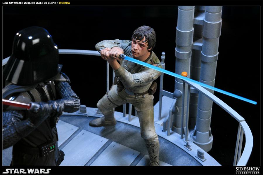 Stormtrooper: Sideshow Collectibles - Luke Skywalker Vs Darth Vader ...