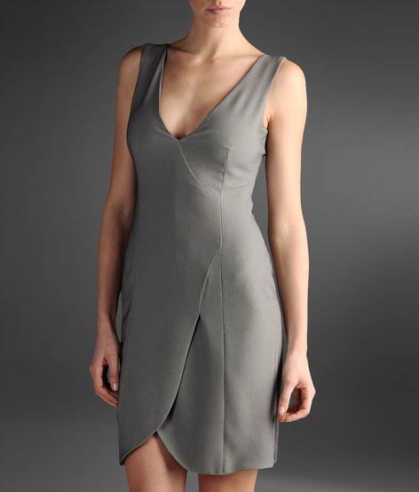 gümüş rengi elbise