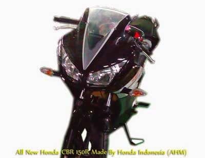Honda CBR Lokal Black