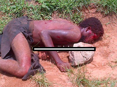 ritualist student who disguised as a man man lynched in ibadan 3
