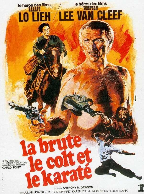 The Karate, The Cold and The Imposter 1974 Movie Poster Starring Lee Van Cleef and Lo Lieh