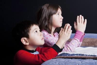 orações para criança