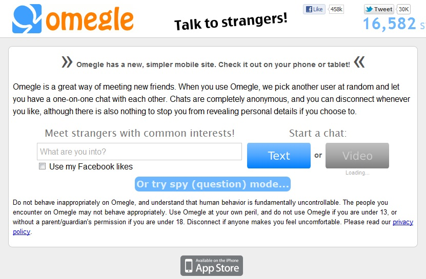 Omegle hack chat with girl only - dadaretsers