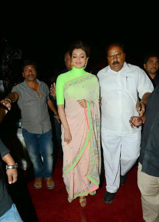Kajal Agarwal Saree Photos