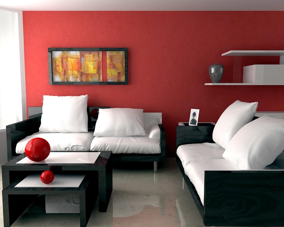 Modern Living Room Black And Red nijuzetz: SHOWR...
