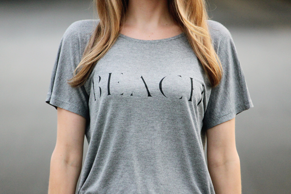 Grey Beach tee from Madewell