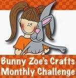 Bunny Zoe's Crafts challenge