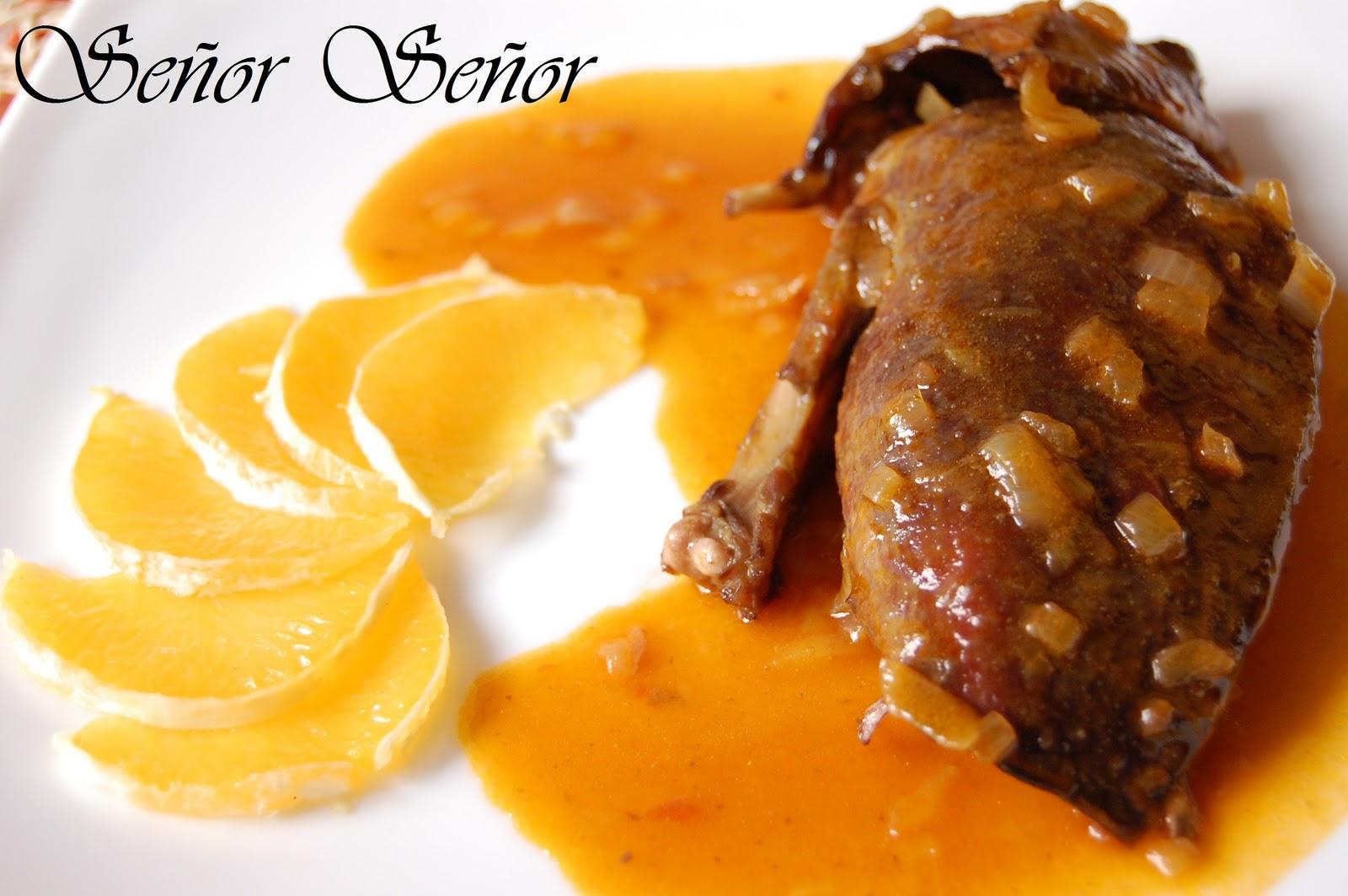 Pato a la naranja receta de sergio for Pato a la naranja al horno