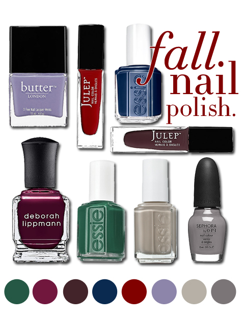 College Prep Fall Nail Polish Trends