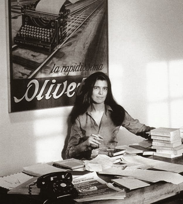 Workspaces Of The Greatest Artists Of The World (38 Pictures) - Susan Sontag, writer and filmmaker