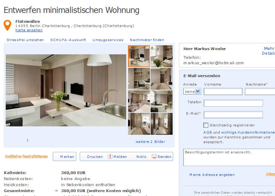 andreas hofer stra e 82 79111 freiburg st georgen gegen wohnungsbetrug against rental scammers. Black Bedroom Furniture Sets. Home Design Ideas