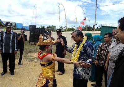 Menristek Kunjungi Desa Telaga Sari