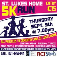 Fast 5k in Mahon, Cork City - Thurs 5th Sept 2019
