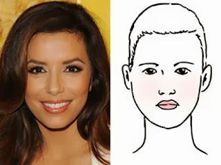 Kiểu tóc cho gương mặt trái xoan