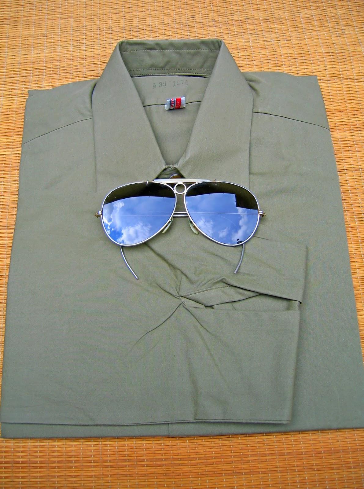 haine+vintage+Military+shirts