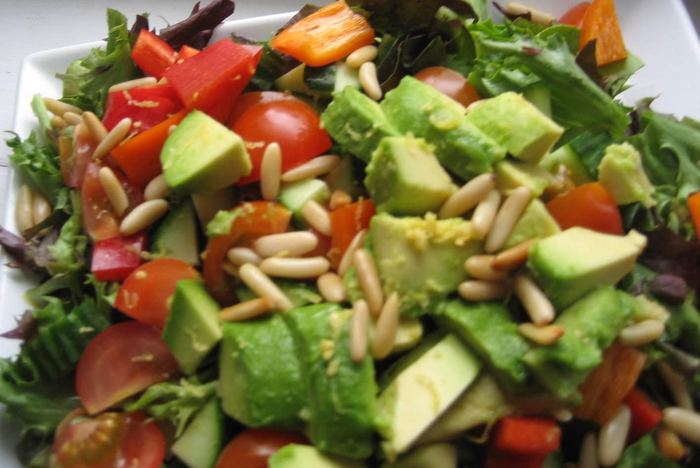 Smag På Verden økologisk Ribeye Bøf Med Luksus Salat Salade De Luxe