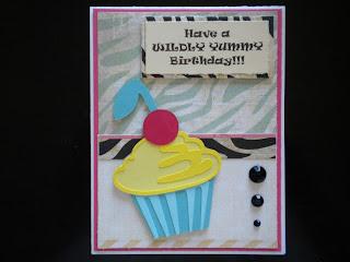 Cricut, From My Kitchen, Cupcake, Birthday