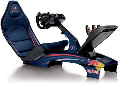 Red Bull Virtual Driving Seat