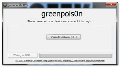 Green-Poison:-Tutorial:-iOS-4.2.1-Jailbreak-iPhone-4-/-3G,-iPod-4G-/-3G-and-iPad-with-Greenpois0n-RC5-(Mac-OSX)