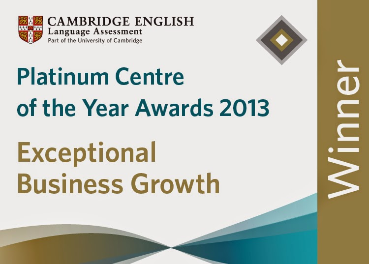 Platinum Centre of the Year Awards 2013
