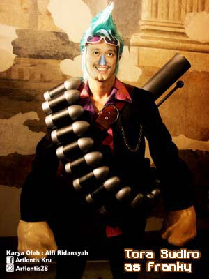 Ketika Anime One Piece dijadikan Tokoh sinetron=bambang-gene.blogspot.com