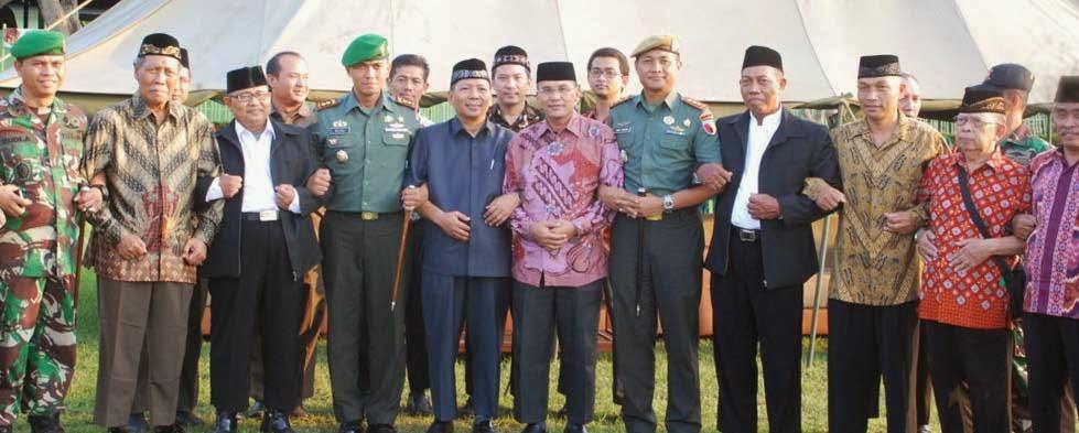 Diklat Bela Negara Pemuda LDII Surabaya Sidoarjo di Yon Arhanudse 8 Sidoarjo