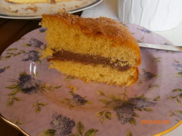 Connu Pan di Spagna Farcito con Crema di Mascarpone e Nutella | Cucina  FB16