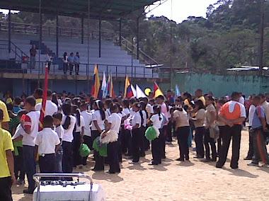 Inauguración de los Juegos