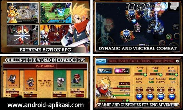 20 Game RPG Khusus Android Terbaik 2015 - 2016