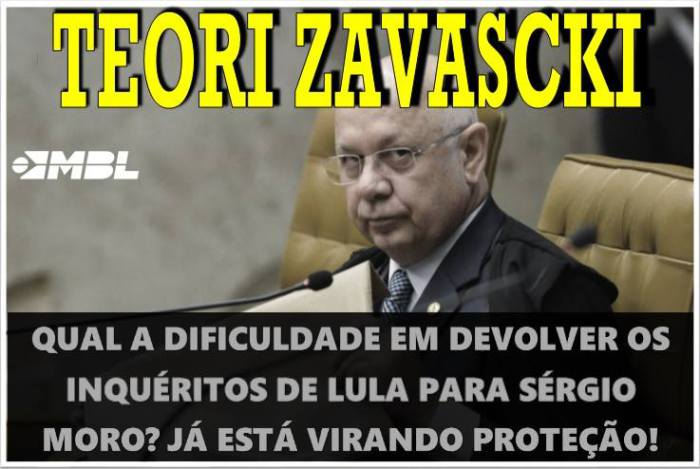 TEORI, LIBERA O LULA, PORRA!!!