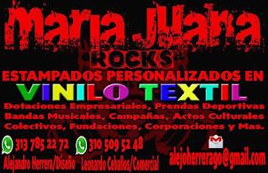 ESTAMPADOS MARIA JUANA ROCKS (Pereira)