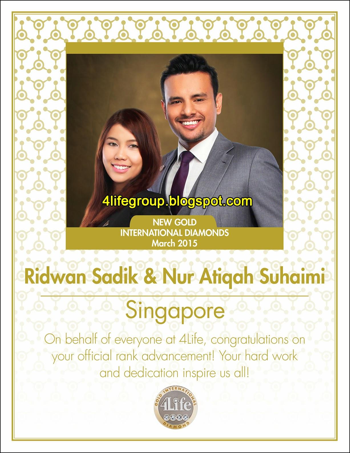 foto Tahniah Kepada GID Baru dari Singapura