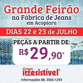 Grande Feirão de jeans em Acopiara