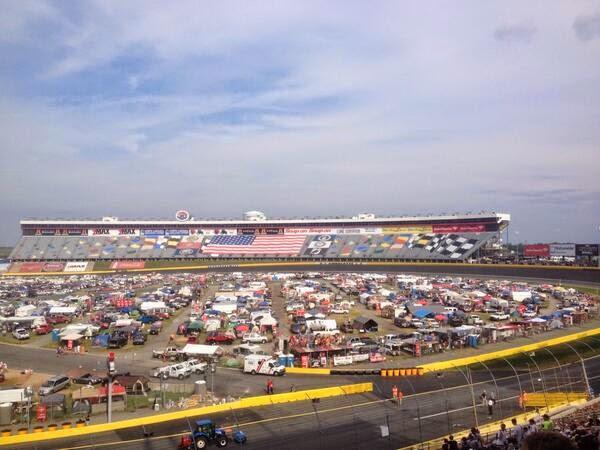 nascar empty grandstand