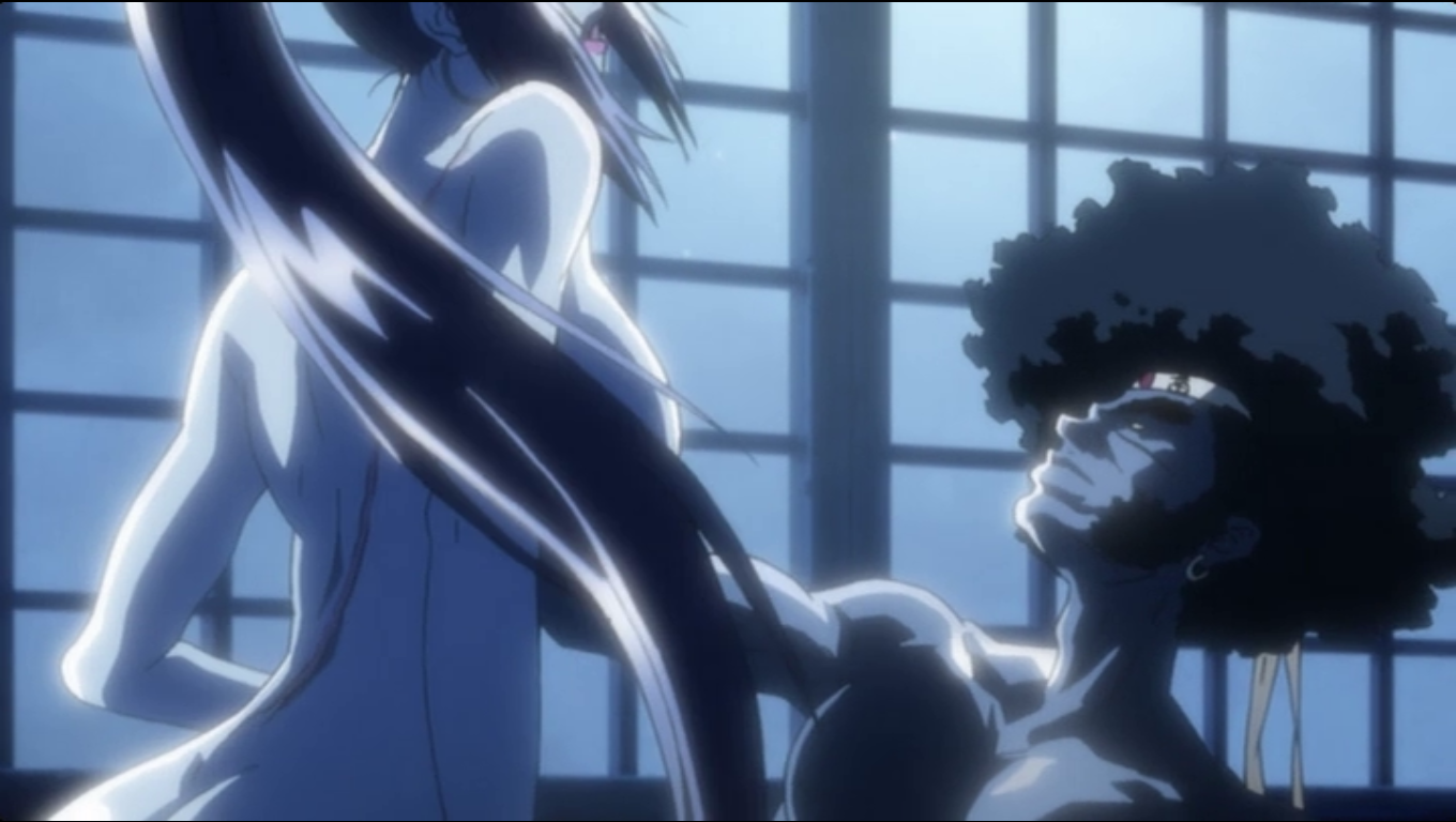 Afro Samurai Sex Scene Awesome movie afro samurai (2007) - adventures of me