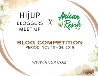 HijUP Bloggers Meet UP X Arisan Resik Blog Competition